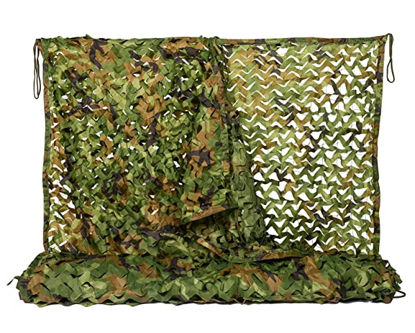 Outdoor Woodland Camo Netting Camping Military Hunting Camouflage Net Network