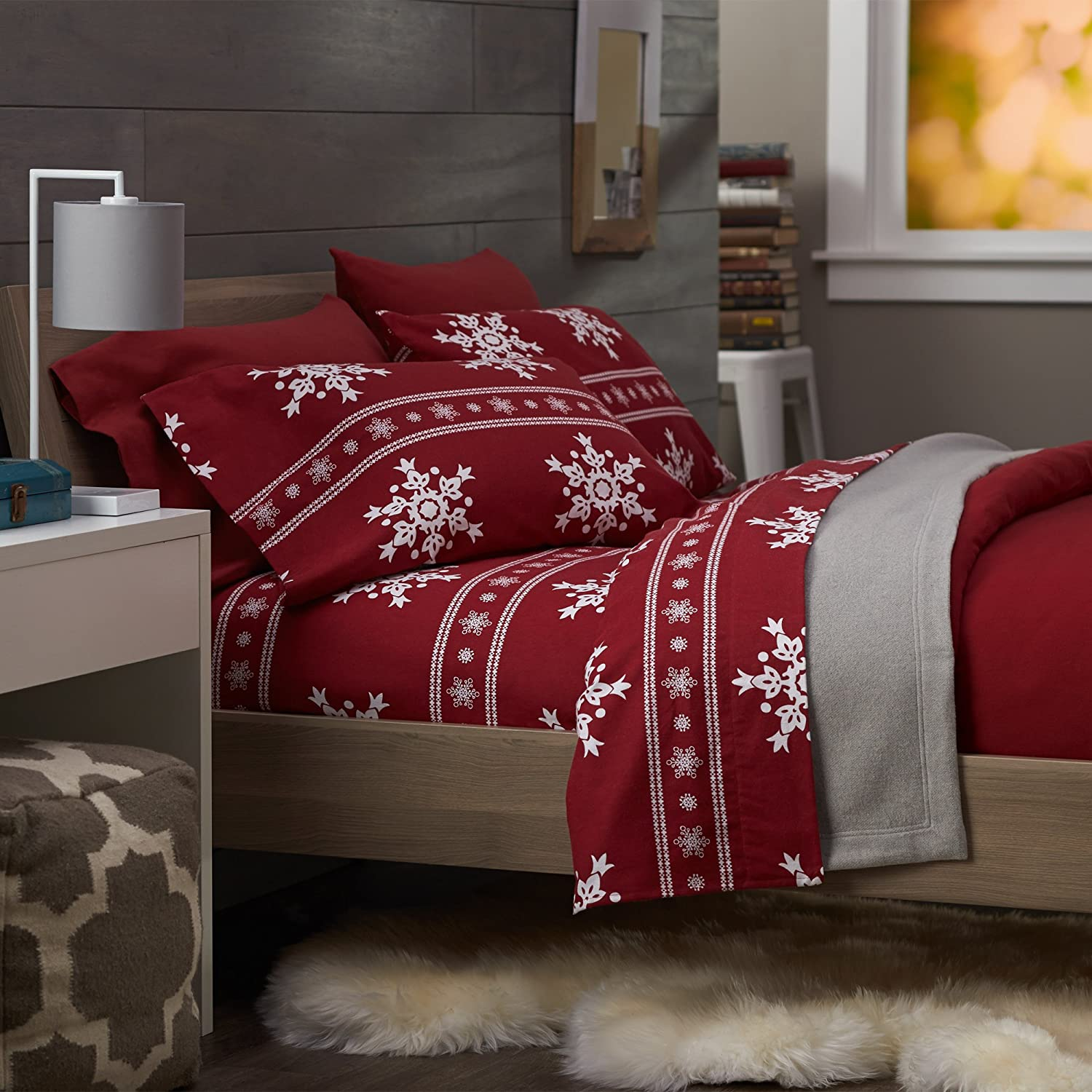 Christmas Bedding Sets Queen Glowing Holiday