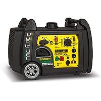 Champion 100263 3400 Watt Dual Fuel (Hybrid) Portable Generator with Electric Start