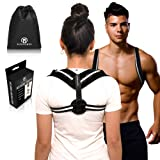Runforce Posture Corrector for Women and Men, FDA Approved Adjustable Upper Back Brace, Perfect for Clavicle Support & Pain Relief, Kyphosis Trainer f