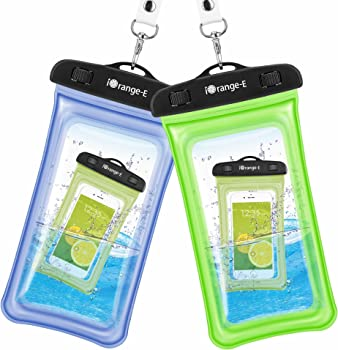 2-Pk. iOrange-E Universal Waterproof Cellphone Case