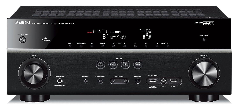 Yamaha RX-V 775 Black 7.2-Kanal AV Receiver