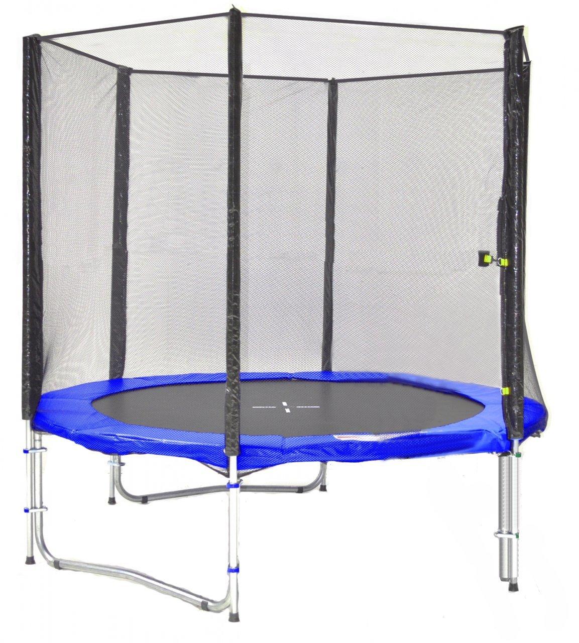 SB-185-B Professionell Gartentrampolin 185cm incl. Netz, und Leiter 90kg Traglast günstig kaufen