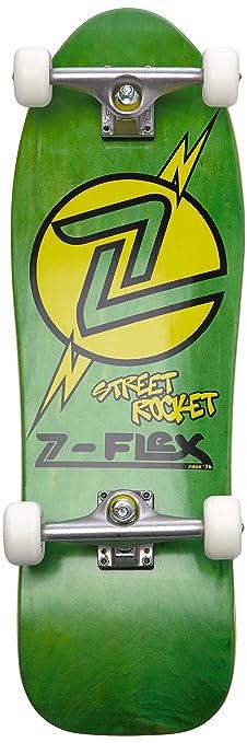 Z-Flex ZFLDEKSTR Street Rocket Skateboard Vert Taille unique