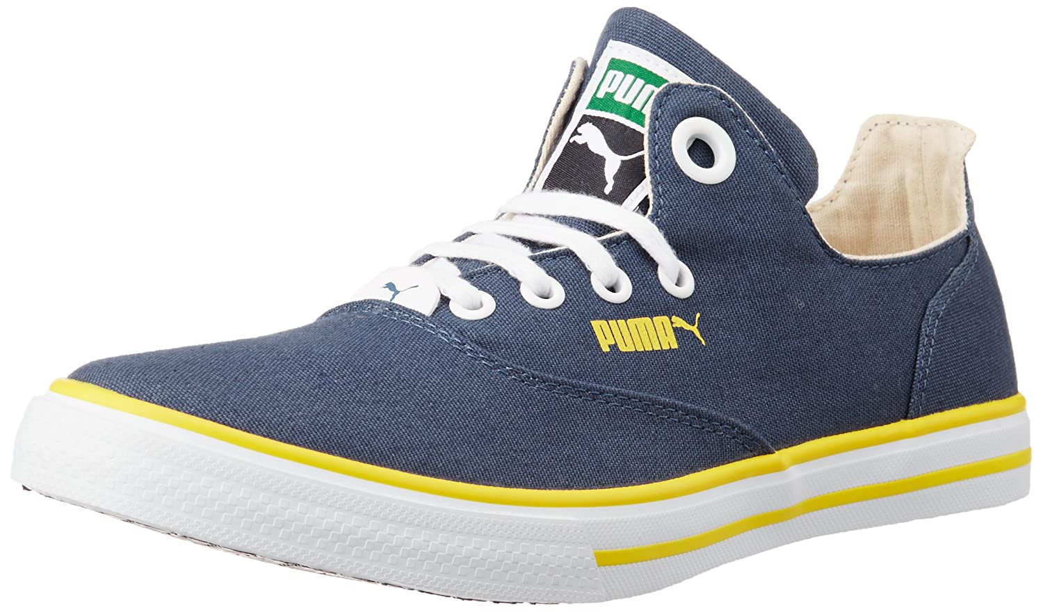 Lowest Online   Buy Puma Unisex Limnos CAT 3 DP Canvas Sneakers at Rs.999  only 3861be95e