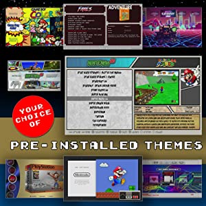 256 GB Retropie 4.4 SD Card - Loaded Collection with Video Previews & 3D Boxart