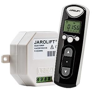 JAROLIFT 1x Funkhandsender Timer 4Kanal TDRCT 04 inkl. 4x Funkempfänger TDRRUP  BeleuchtungKundenbewertung und Beschreibung