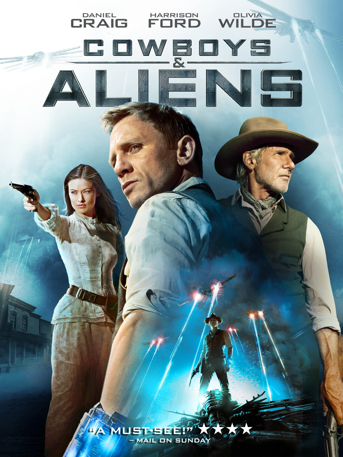 Cowboys and Aliens on Amazon Prime Video UK