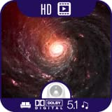 Galactic Space Journey HD [5.1 Dolby Digital Musik + 1 Stunde Videos]