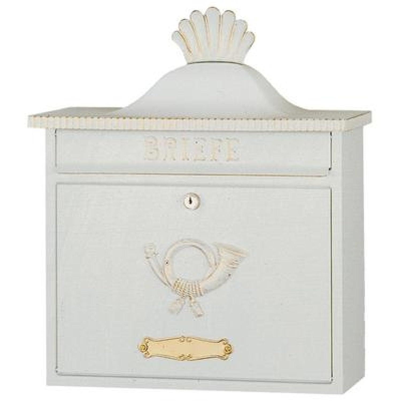 Heibi Verzinktes Stahlblech Briefkasten TRAKO 64056-008