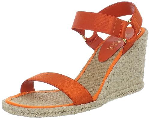 Lauren Ralph Lauren 拉尔夫·劳伦 Indigo Wedge Sandal 女士凉鞋 .66 - 第1张  | 淘她喜欢
