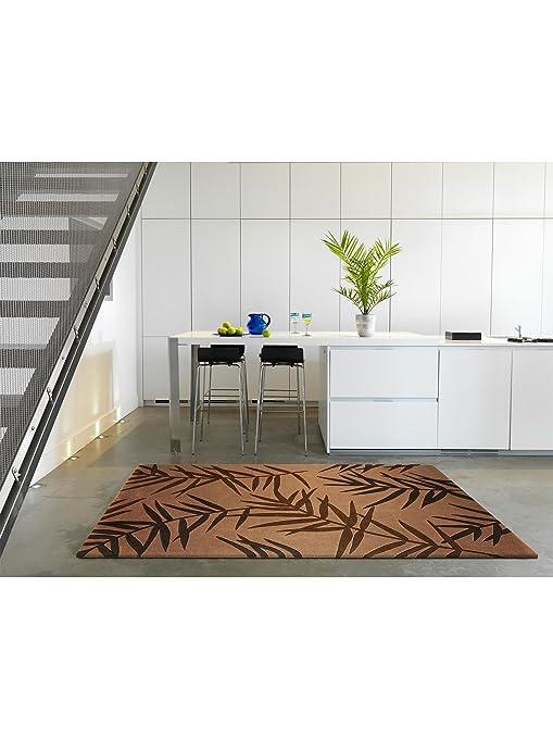 benuta tapis de salon moderne moderne eden palm pas cher marron marron 90x150 cm sans. Black Bedroom Furniture Sets. Home Design Ideas