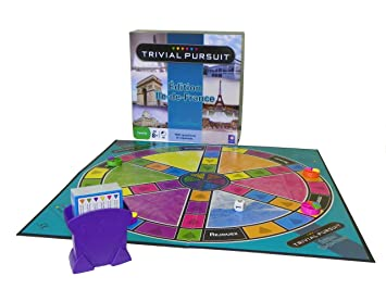 Winning Moves - 0341 - Jeu de Société - Trivial Pursuit - Ile de France