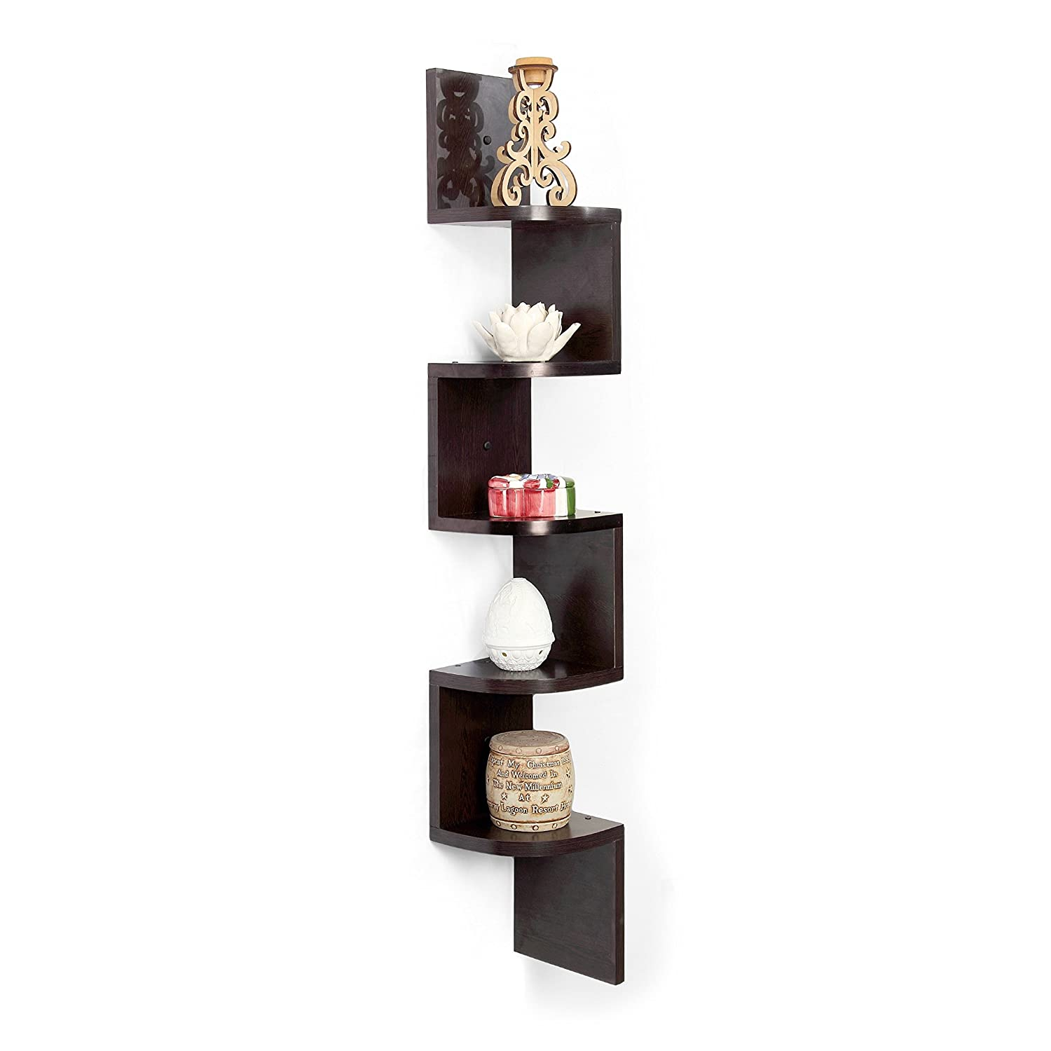 Corner Dining Room Furniture Forzza Vincent Corner Wall Shelf Wenge Best Home And