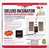 Miller Little Giant Egg Incubator 11300 with Fan Kit and Egg Turner