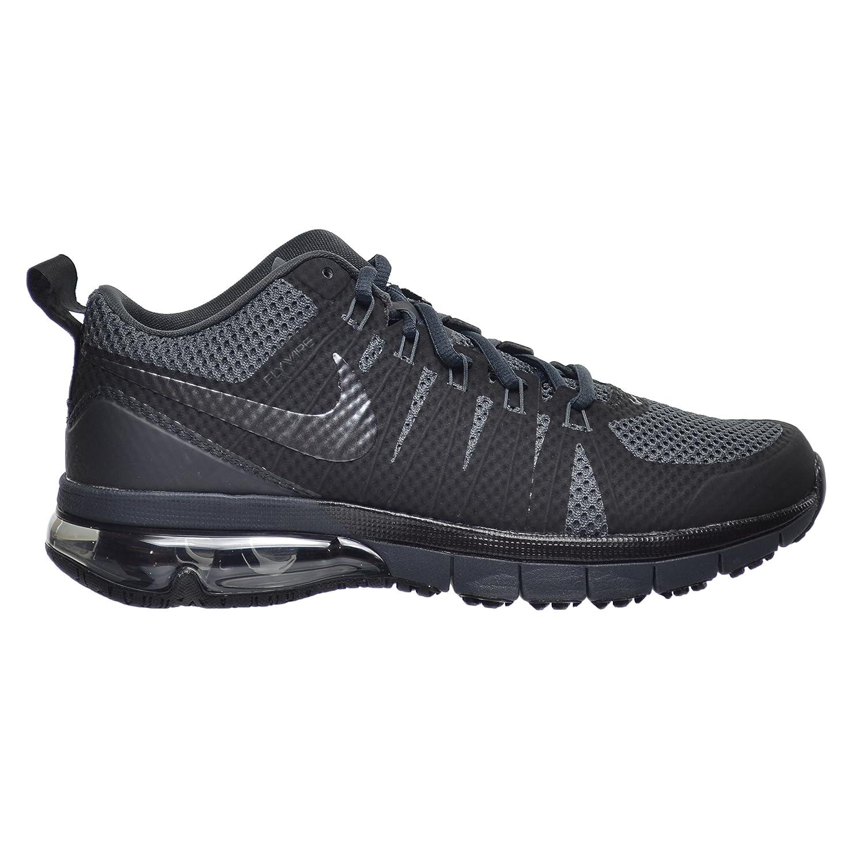 0b6ae5fd77b Amazon.com  Mens Nike Air Max TR 180 Training Shoe Black Black Metallic  Silver Reflect Silver Size 9  Shoes