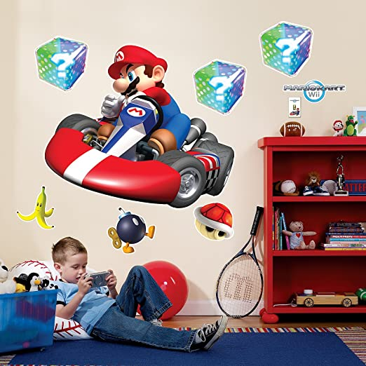 Mario Kart Giant Wall Decals