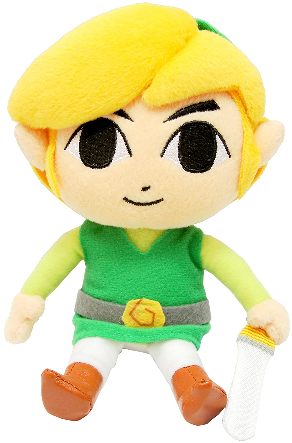 Toy Link Plush - 7 5    Toon Link Wind Waker
