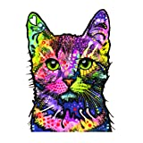 Enjoy It Dean Russo Cat Car Sticker, Outdoor Rated Vinyl Sticker Decal for Windows, Bumpers, Laptops or Crafts