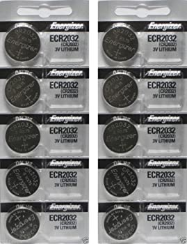 10-Pack Energizer 3 Volt Lithium Coin Battery