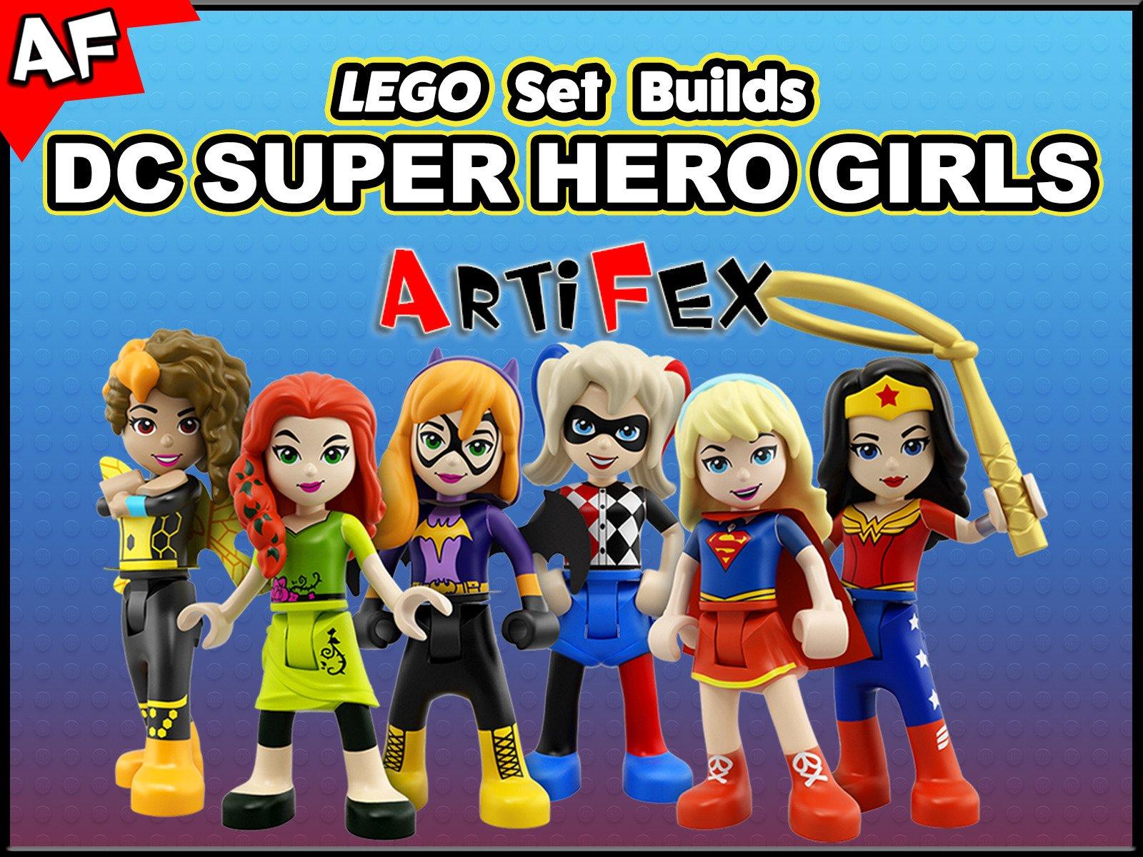 Clip: Lego Set Builds DC Super Hero Girls- Artifex - Season 1