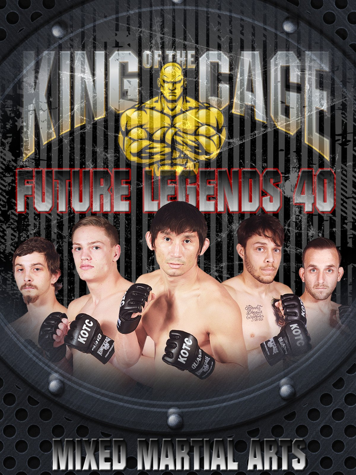 King of the Cage Future Legends 40