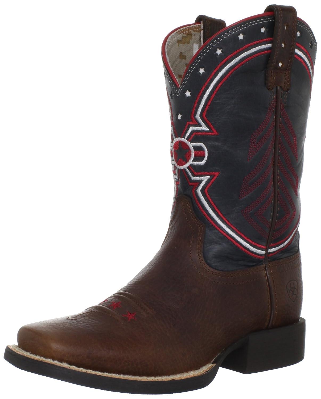 Ariat Freedom Western Boot (Toddler/Little Kid/Big Kid) ariat man1 cowboy boots