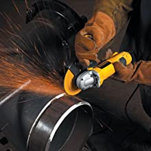 DEWALT D28144 6-Inch High Performance Small Angle Grinder