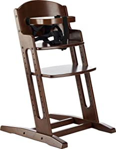 BabyDan DanChair Wooden Highchair (Brown)       Babyreview and more information