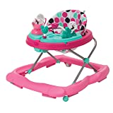 Disney Ready Set Music and Lights Walker, Minnie Mouse Dottie (Color: Pink)