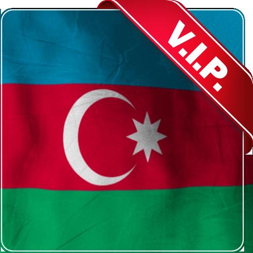 Azerbajian Flag