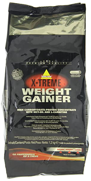 Inko X-Treme Weight Gainer Schoko, 1er Pack (1 x 1.2 kg)