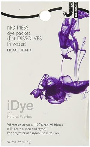 Jacquard 7092280 iDye Fabric Dye 14 Grams-Lilac (Color: Lilac, Tamaño: EACH)