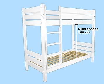 Etagenbett Nische 100 : Hot verkauf 60.16 09 w etagenbett für erwachsene weiß 90x200