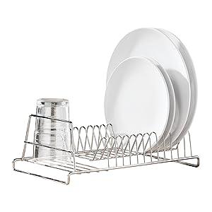 Premier Housewares - Escurreplatos para 12 platos, cromado   más información y comentarios