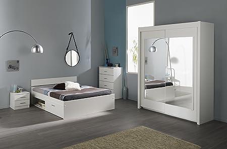 """Parisot Schlafzimmer-Set mit Schweber """"Infinity 112"""" Weiß"""