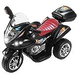 Uenjoy Murtisol Kids Ride on Motorcycle 6V Electric Motorcycle 2 Wheels Black (Color: Black, Tamaño: 32