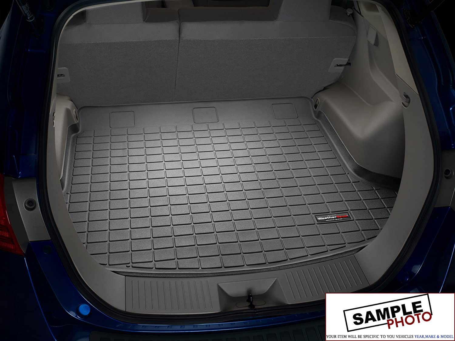 2010-2014 Mercedes-Benz CLS63 AMG Black Weathertech Cargo Liners 2010 2014 mercedes benz cls63 amg black weathertech cargo liners