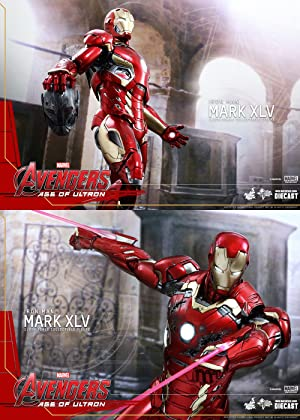 Of Iron Scale 16 Age Ultron Diecast Hot Man Avengers Toys 45 Mark T1K3uc5FlJ