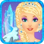 Snow Queen Make Up and Dress Up - Ful...