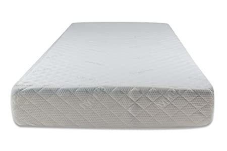 Materasso in gel memory foam, incl. 2 cuscini, 90 x 190 cm