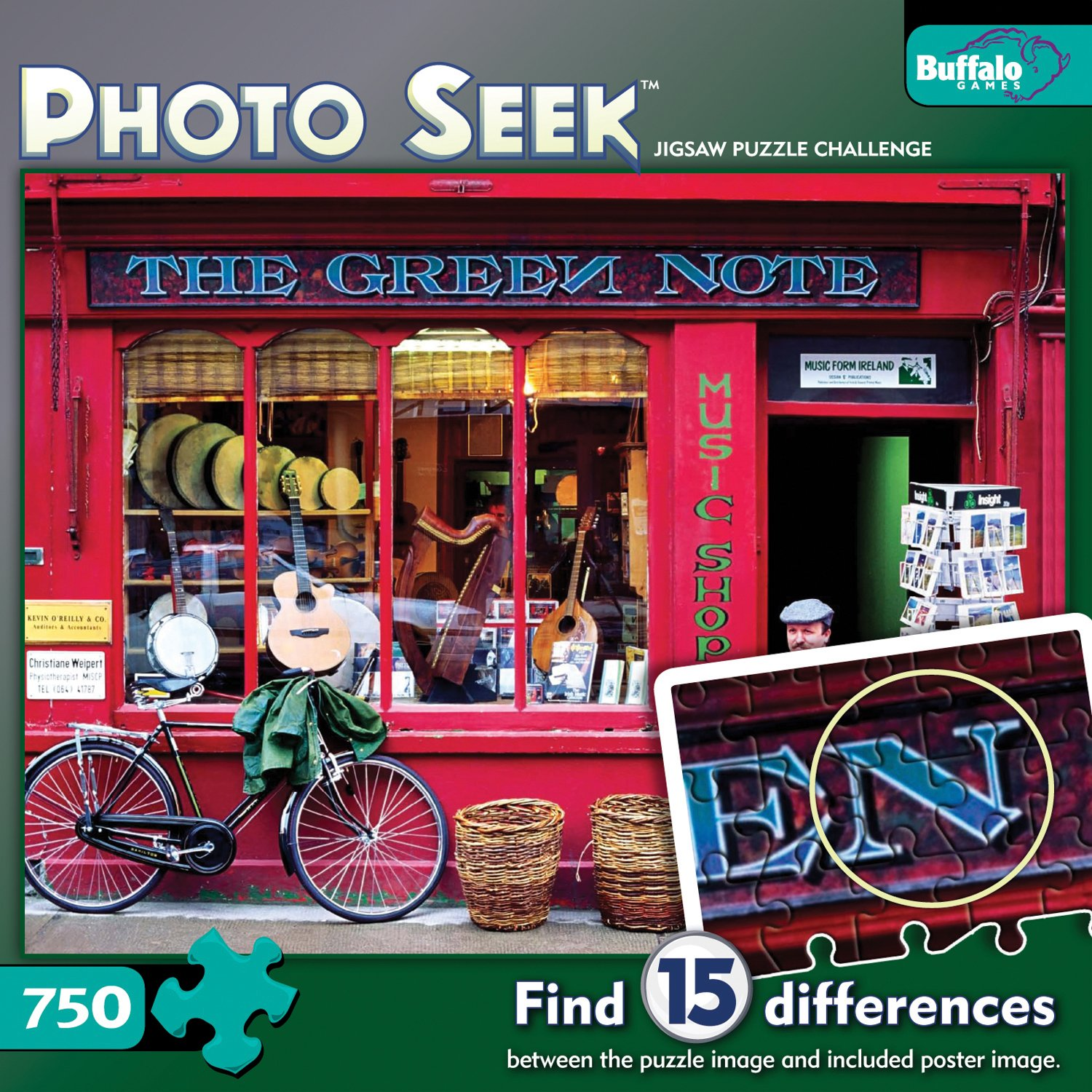 Photo Seek Irish Shop 750 Pieces Jigsaw Puzzle