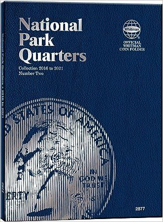 Whitman Nat Park Blue Folder Vol II 2016-2021 written by Whitman Publishing
