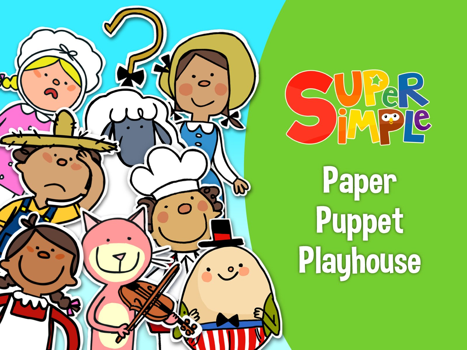 Paper Puppet Playhouse - Season 1