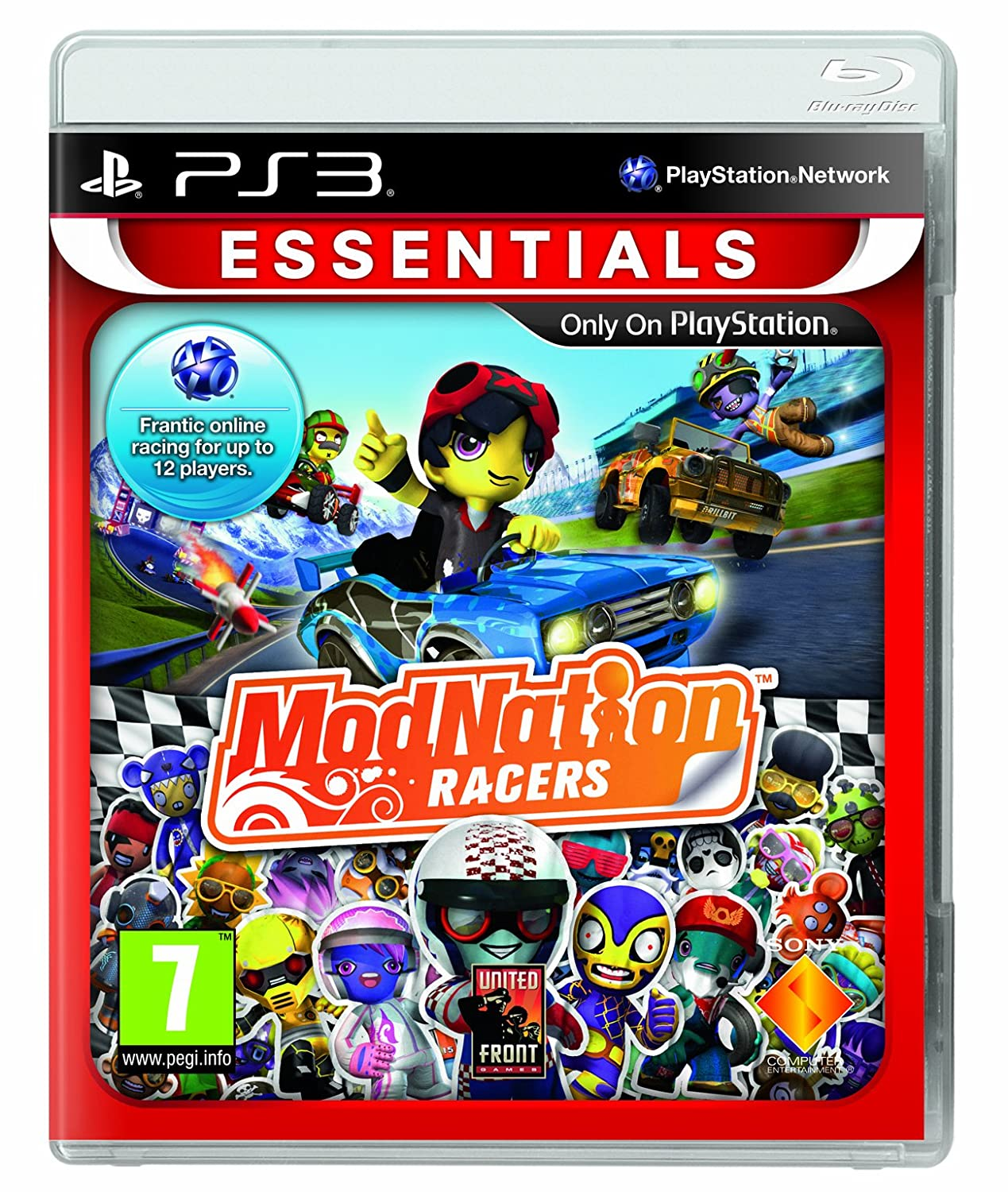 ps3 spiel modnation racers autorennen neuware ebay. Black Bedroom Furniture Sets. Home Design Ideas