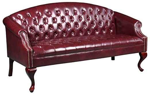 Boss Classic Traditional Button Tufted Sofa