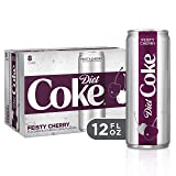 Diet Coke Feisty Cherry Soda Soft Drink, 12 fl oz, 8 Pack