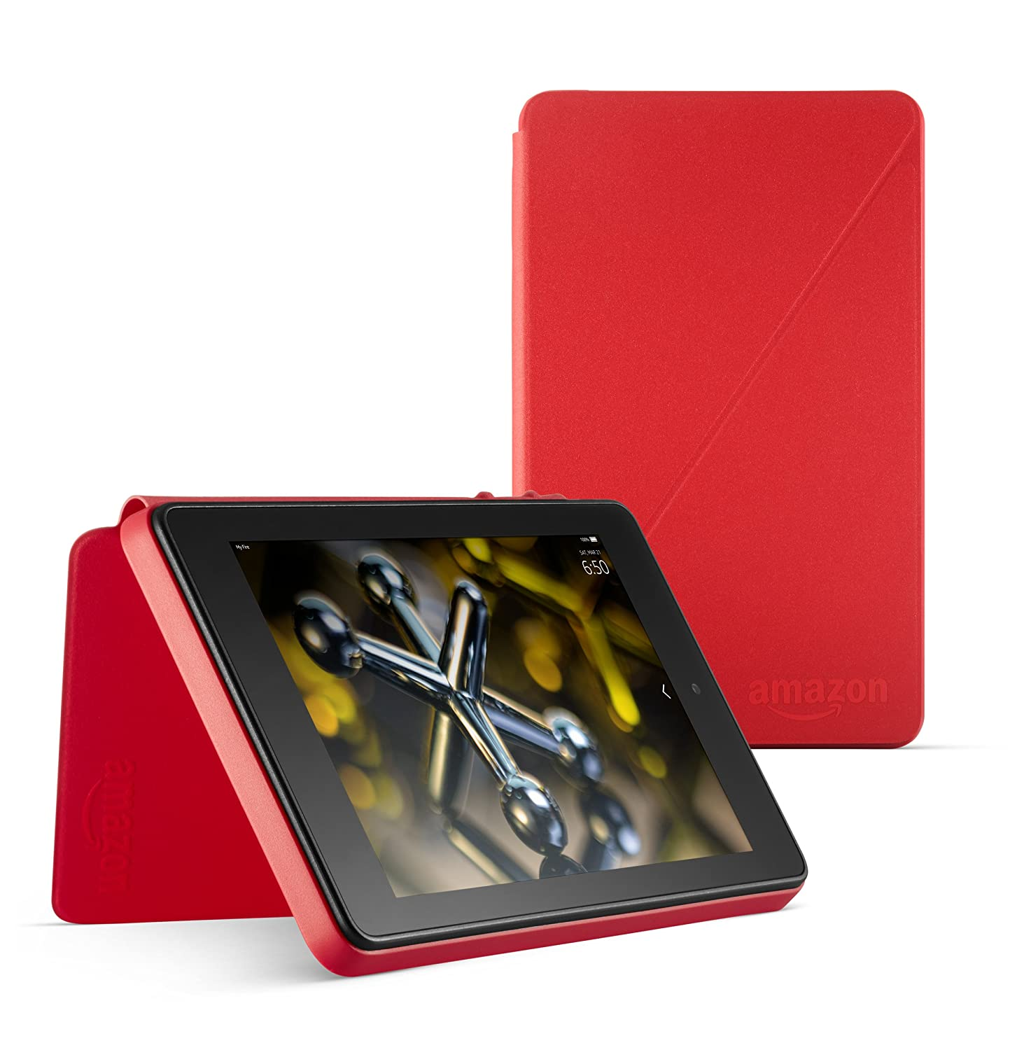 Standing Protective Case for Fire HD 6 (4th Generation), Cayenne