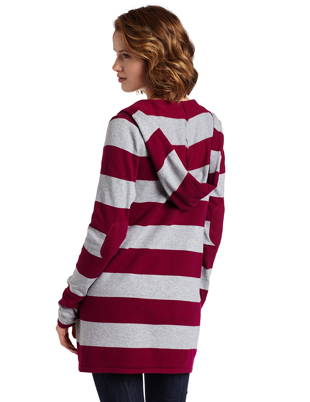 Sweet Romeo Womens Long-Sleeve Hood Open Cardigan