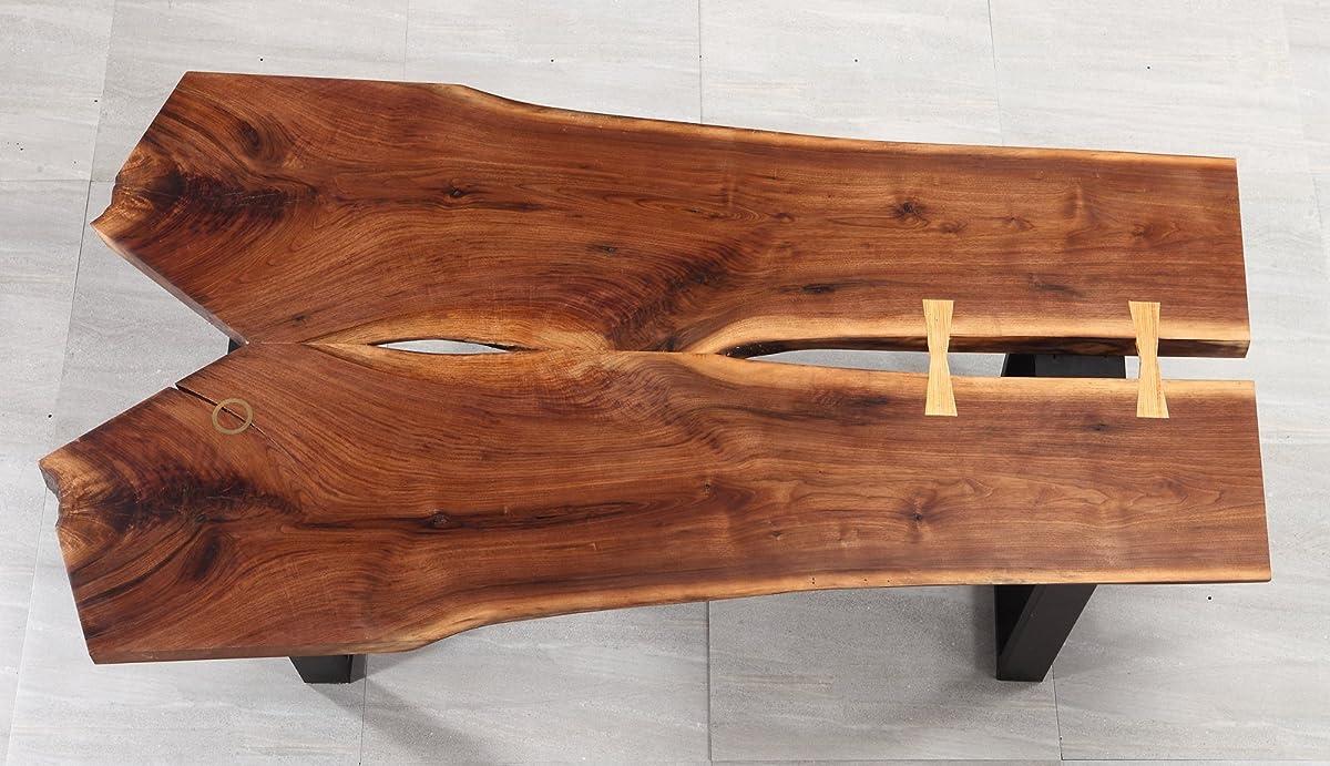 "BHI 70"" Furniture Walnut Modern Wood Living Room Style Floor Large New Coffee Table W38"